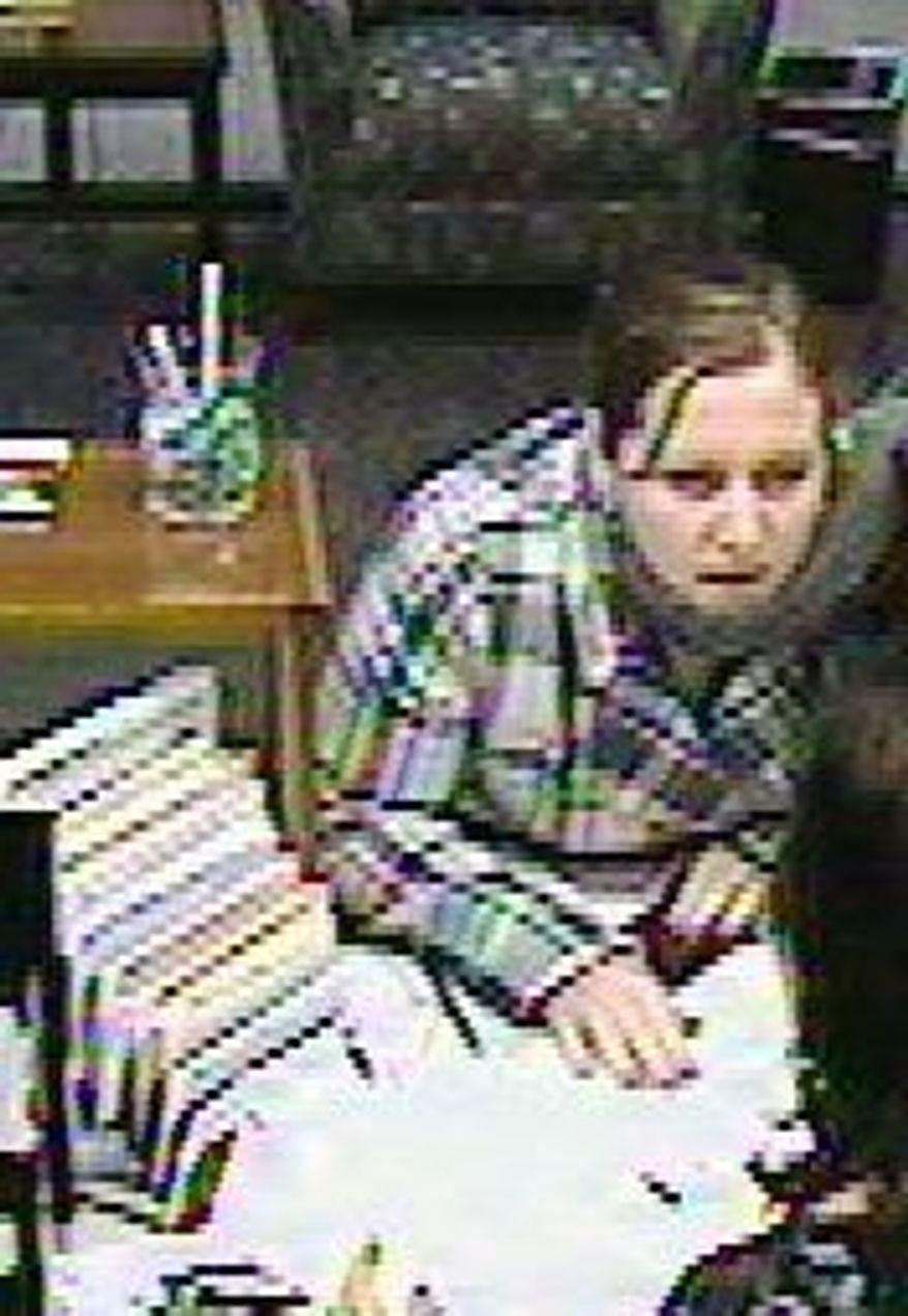 Stephanie L. Schwab (Image from surveillance video)