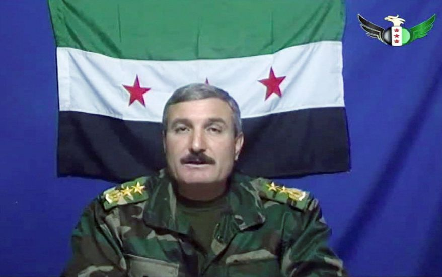 Riad al-Asaad heads a group of Syrian army defectors responsible for attacks against the regime. The Free Syrian Army (FSA) holds no territory, appears largely disorganized and is up against a fiercely loyal and cohesive military that will stop at nothing to protect the regime. (Associated Press)