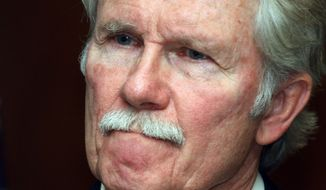 Oregon Gov. John Kitzhaber announces in Salem, Ore., on Nov. 22, 2011, that the execution of convicted killer Gary Haugen will not go on as scheduled next month and no more executions will happen while he is in office. (Associated Press)