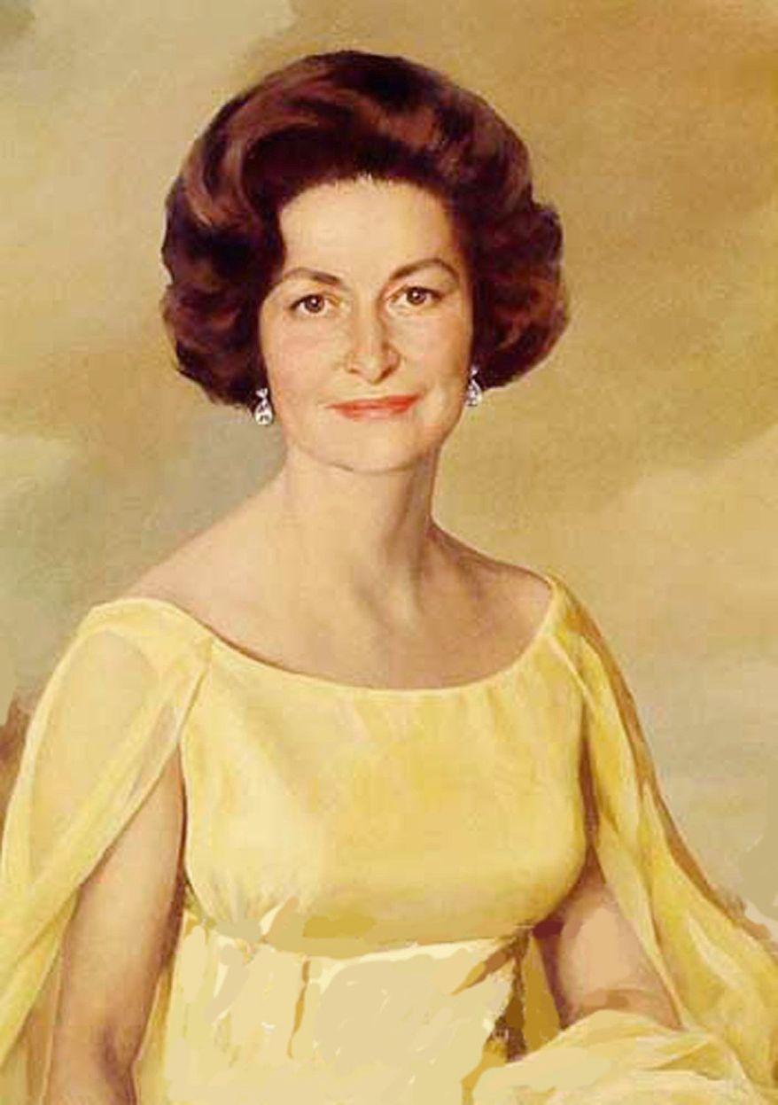 First Lady Lady Bird Johnson (Library of Congress)