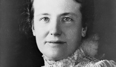 First Lady Edith Roosevelt. (Library of Congress)