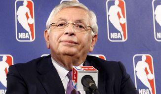 NBA Commissioner David Stern (AP photo)