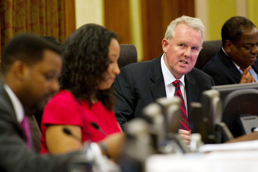 Council member Tommy Wells was the subject of strange backlash at the meeting for introducing a bill to repeal the iGaming law. (The Washington Times)