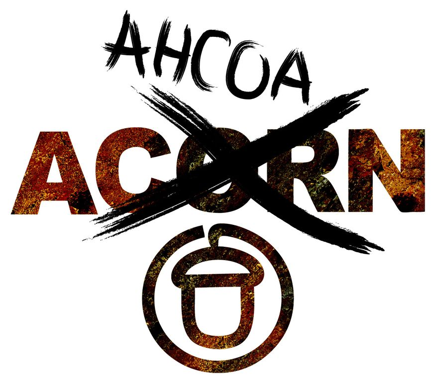 Illustration: ACORN's new name by Greg Groesch for The Washington Times