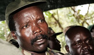 Joseph Kony, seen in 2006, is leader of the Lord's Resistance Army, a Ugandan rebel militia that is blamed for tens of thousands of rapes, mutilations and killings over the past 26 years. U.S. Special Forces troops are helping hunt the LRA. (Associated Press)