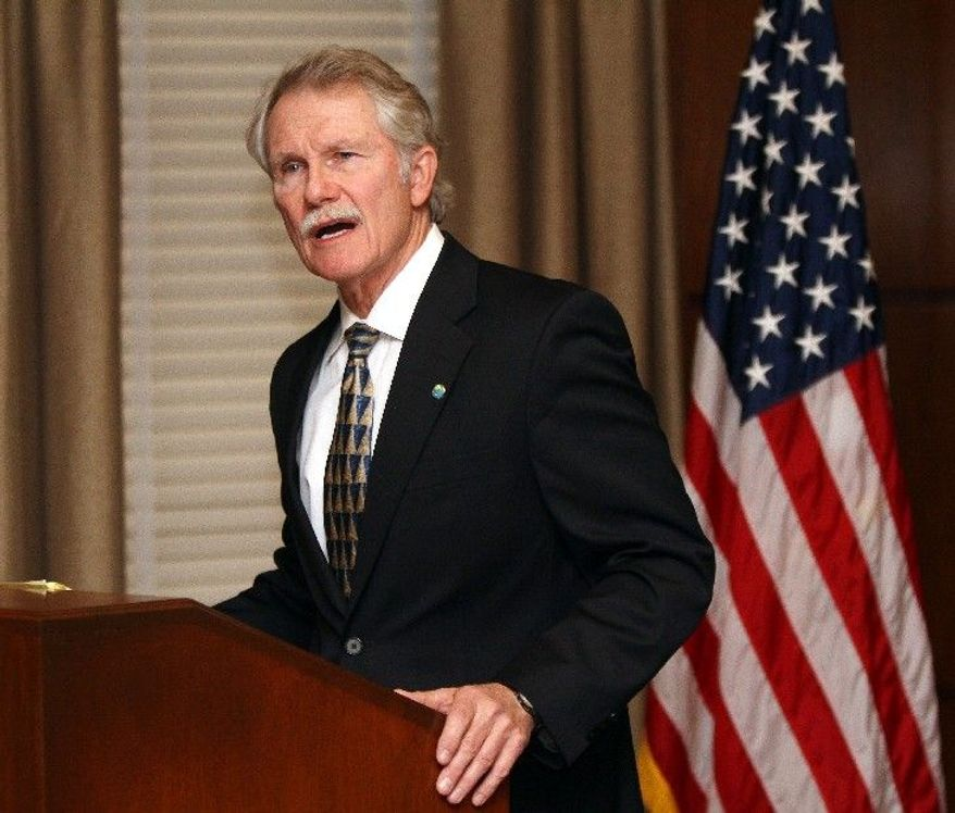 """I simply cannot participate once again in something I believe to be morally wrong,"" says Oregon Gov. John Kitzhaber in announcing that he was halting the execution of a double murderer -and that no more executions will happen while he is in office. (Associated Press)"