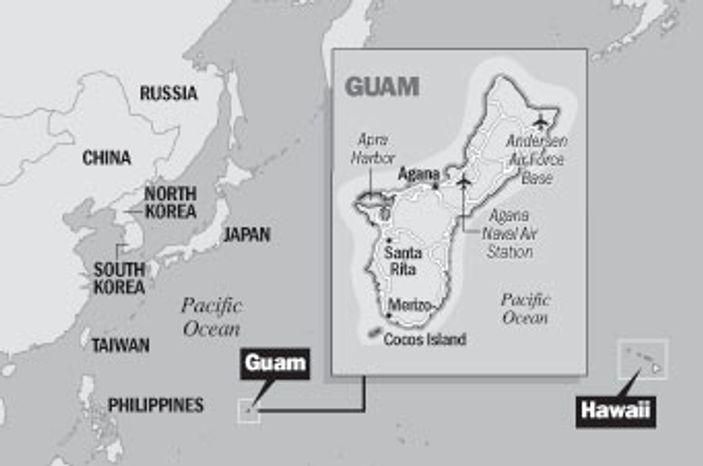 Map: Guam