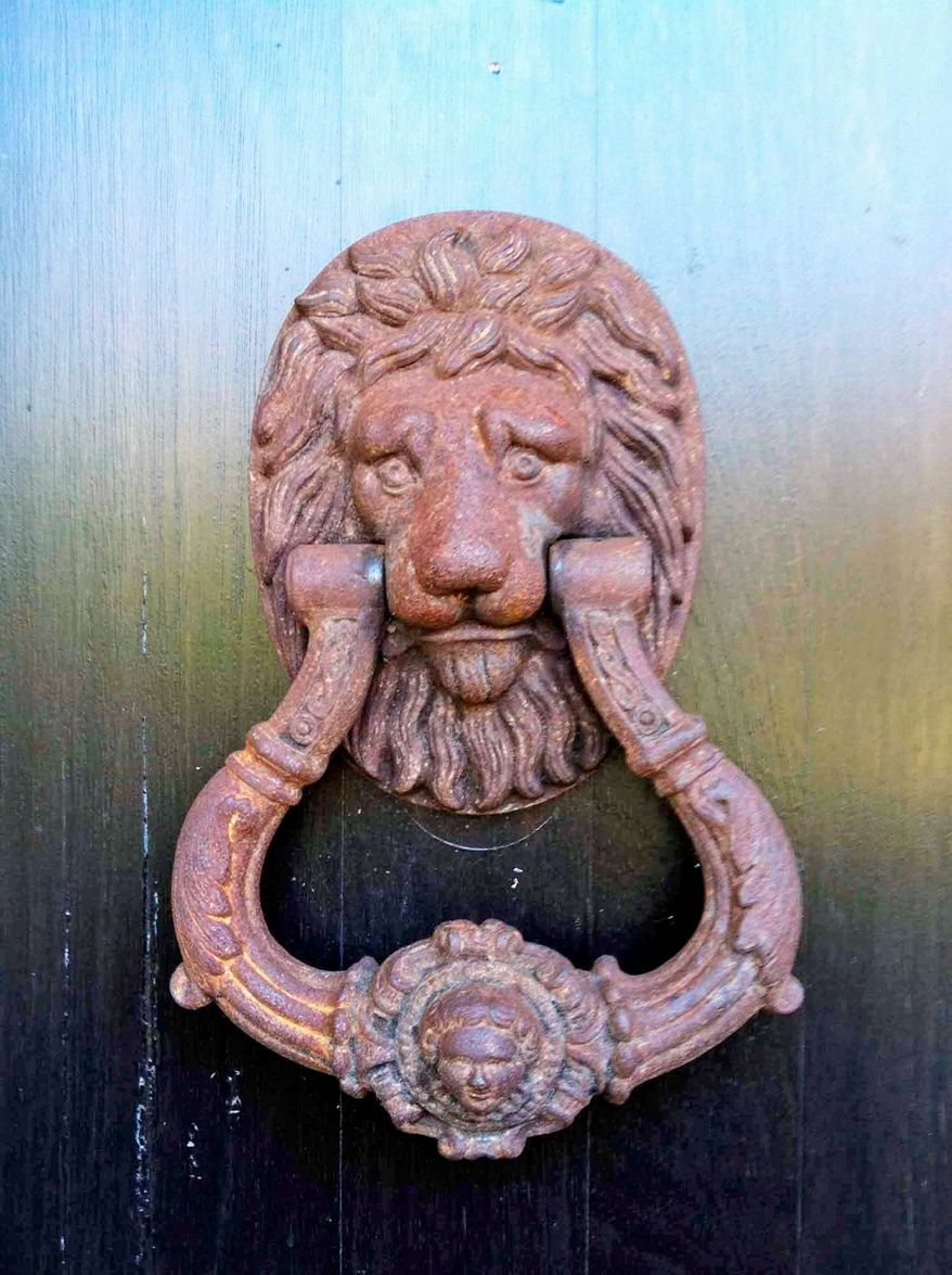 Jeff Akseizer with McLean's Akseizer Design Group suggests using a distinctive door knocker or an urn to give a home somestylish curb appeal.