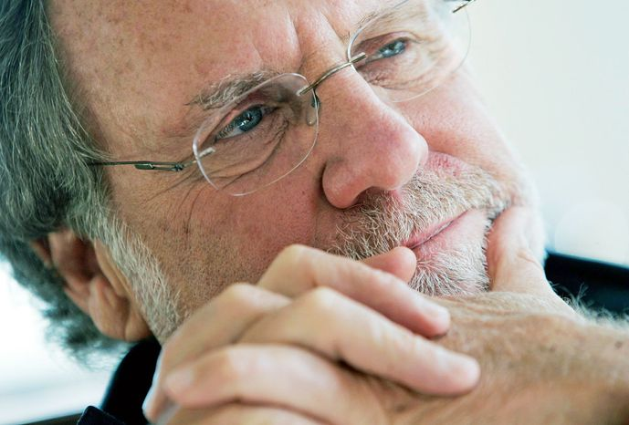 Former Sen. Jon Corzine led MF Global until last month. (AP Photo)