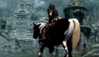 Role-playing skills are put to a test in a Middle Earth style universe found in the video game The Elder Scrolls V: Skyrim.