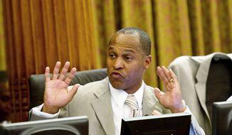 ** FILE ** Former D.C. Council member Harry Thomas Jr., Ward 5 Democrat. (The Washington Times)