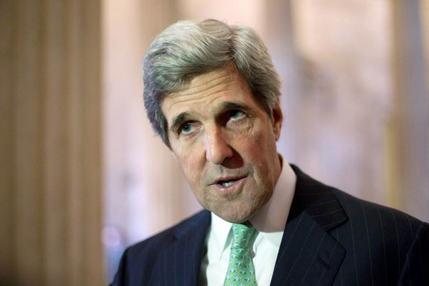 """""""Respect for human rights is a cornerstone of our foreign policy. The committee is deeply concerned about what happened to Sergei Magnitsky, and I strongly support the administration's decision to use its authority to bar human-rights abusers from coming to the U.S.,"""" said Sen. John F. Kerry, Massachusetts Democrat and chairman of the Senate Foreign Relations Committee. (Associated Press)"""