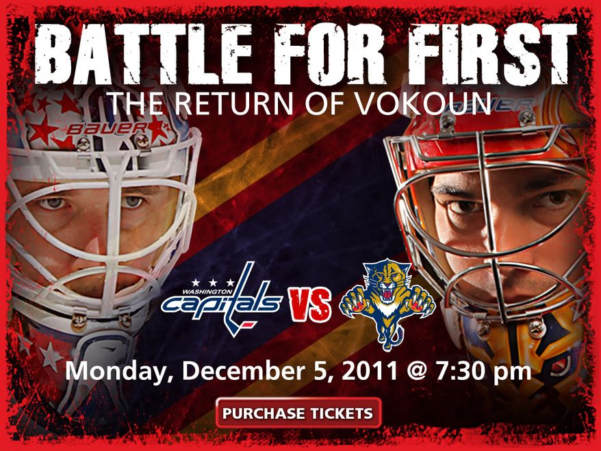 This was the splash page of the Florida Panthers' web site Sunday and Monday.