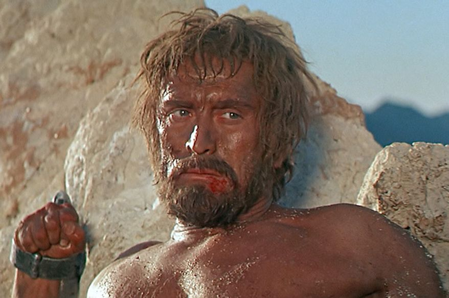 "Kirk Douglas stars in ""Spartacus"" (Courtesy Universal Studios Home Entertainment)"