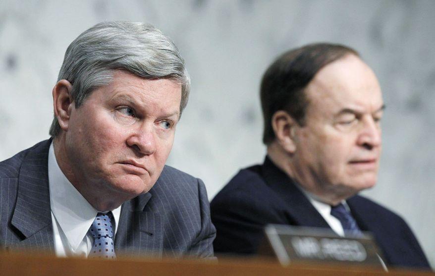 **FILE** Sen. Tim Johnson, South Dakota Democrat. (Associated Press)