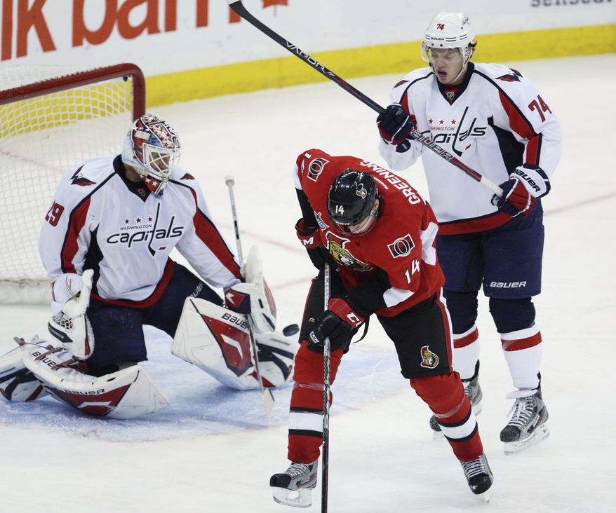 Washington Capitals defenseman John Carlson has been a key member of the improved penalty kill under coach Dale Hunter. (AP Photo/The Canadian Press, Fred Chartrand)