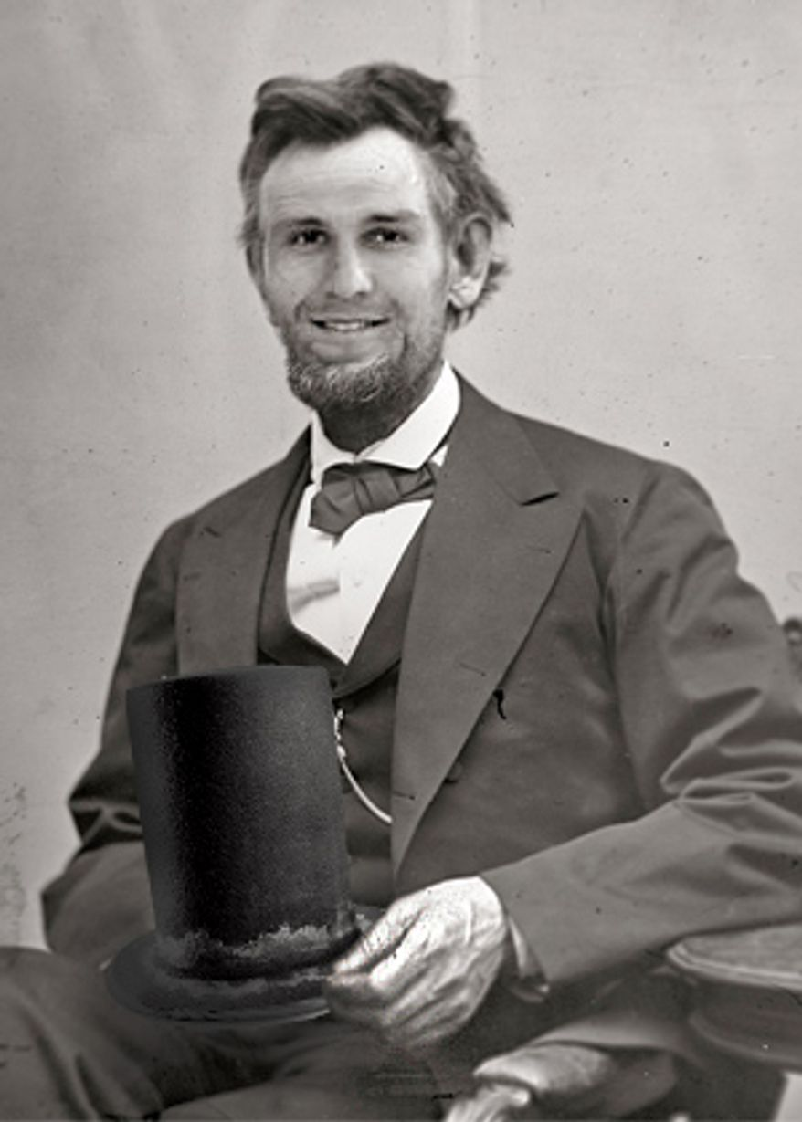 Dennis Wideman as Abraham Lincoln photoshop No. 2 by @thatwilcoxguy.