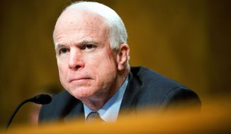 **FILE** Sen. John McCain (Associated Press)