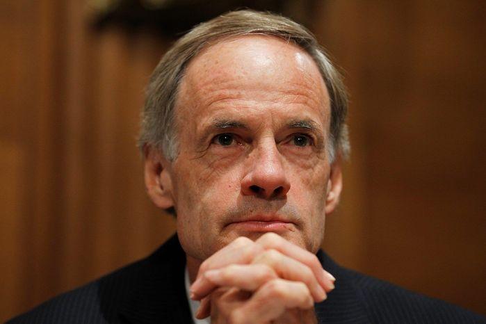 Sen. Thomas R. Carper, Delaware Democrat (Associated Press)