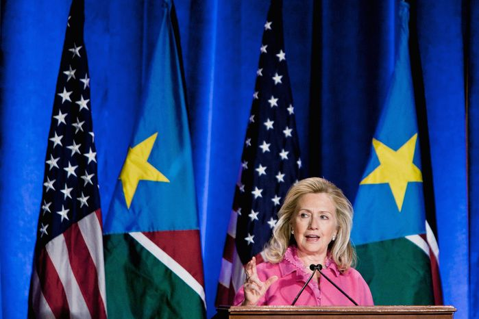 """We know that [natural resources] will either help your country finance its own path out of poverty, or you will fall prey to the natural-resource curse, which will enrich a small elite, outside interests, corporations and countries, and leave your people hardly better off then when you started"" - Secretary of State Hillary Rodham Clinton"
