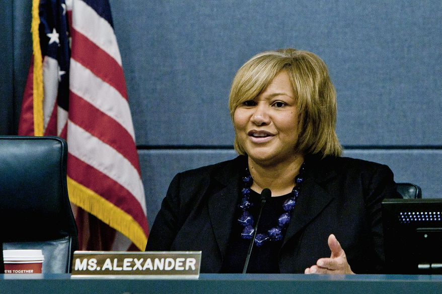 Yvette Alexander (T.J. Kirkpatrick/The Washington Times)