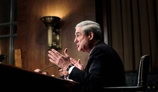 "FBI Director Robert S. Mueller III tells the Senate Judiciary Committee on Wednesday he is concerned about the defense spending bill's effect on the bureau's ability to investigate terrorism, saying that while the bill had been modified for the better, it ""lacks clarity as to what happens at the time of arrest."" The bill has been passed by the House and awaits Senate action Thursday. (Associated Press)"
