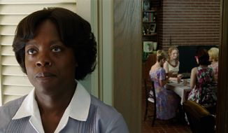 "Viola Davis has been nominated for a Screen Actors Guild Award for her work in the movie ""The Help."" (AP Photo/Disney, Dale Robinette)"
