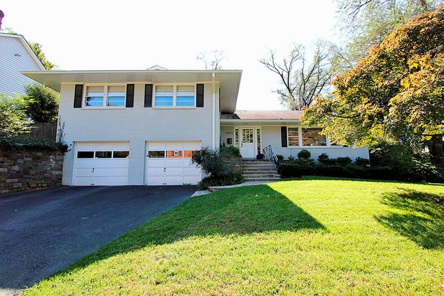 The home at 2910 Daniel Road in Chevy Chase's Ridgewood Village community is on the market for $935,000. The four-bedroom home was built in 1955 and renovated in 2010.