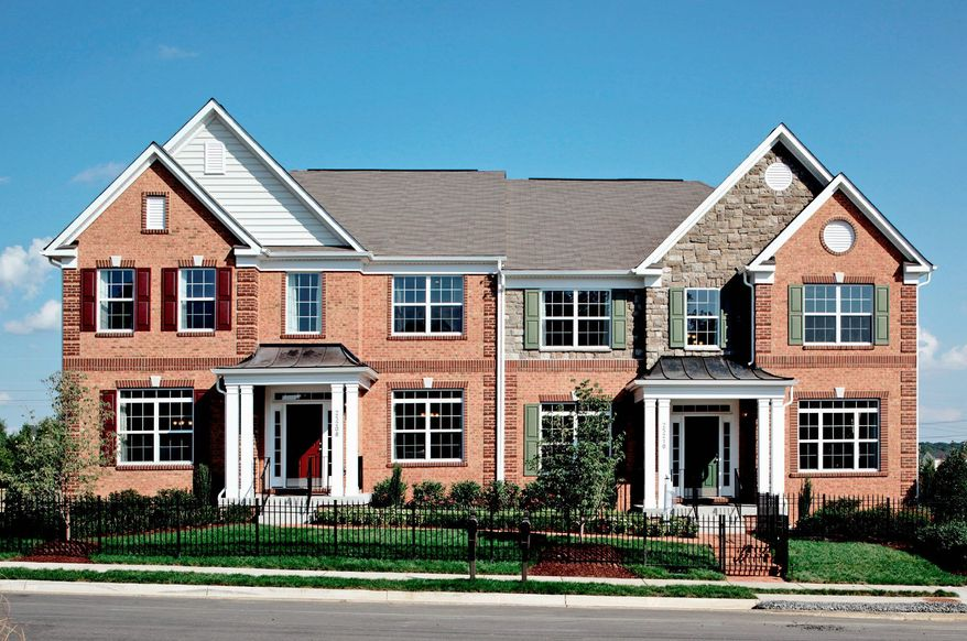 K. Hovnanian Homes is building 107 villas at Greenfield Crossing in Aldie. The Hanover model, with 3,227 square feet, is priced from $429,990.