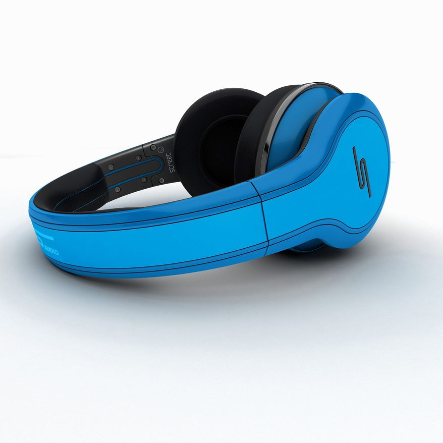 Street by 50 headphones from SMS Audio are meant to reproduce the sound artists hear in the recording studio. (Image provided by www.smsaudio.com)