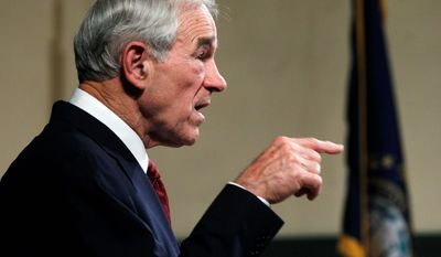 Political observers in Iowa say Rep. Ron Paul's committed, energetic campaign workers have built up the kind of solid organization there that can inspire people to get out and vote for him in the Jan. 3 caucuses. His favorability numbers are rising. (Associated Press)