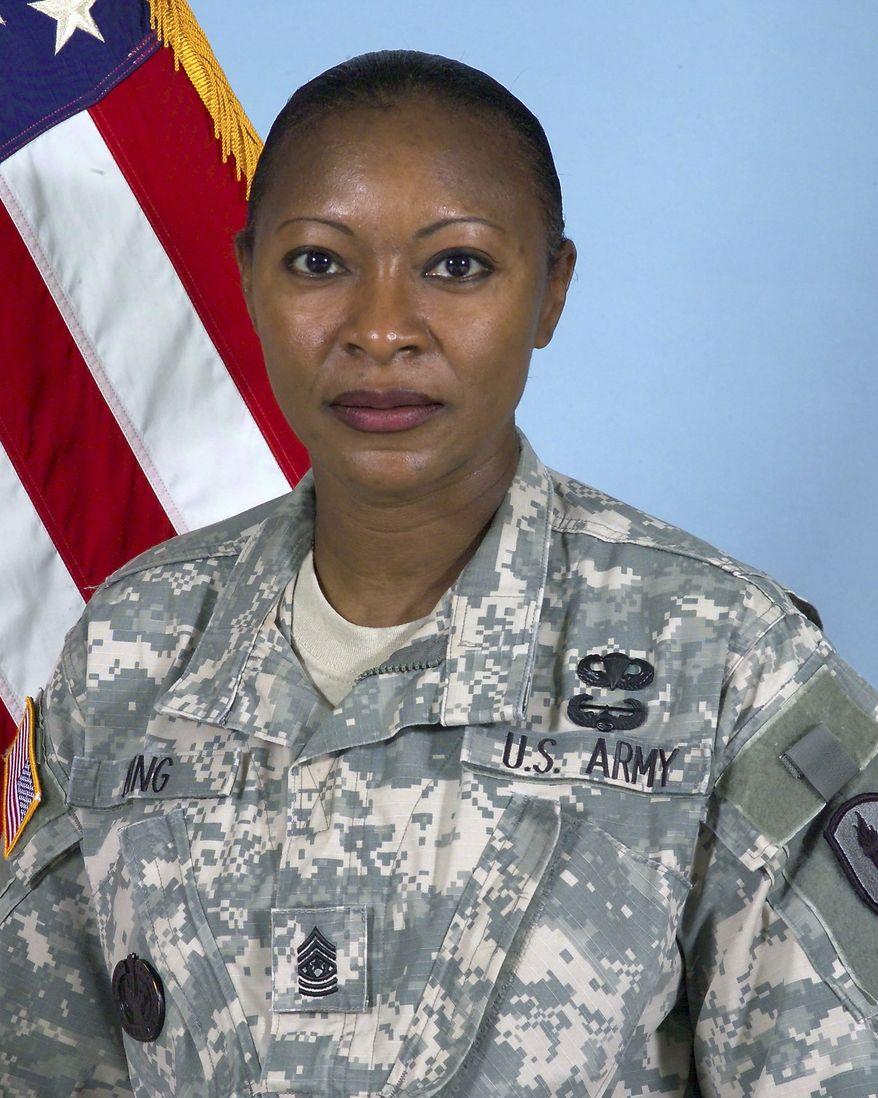 Command Sgt. Maj. Teresa King (AP Photo/U.S. Army)
