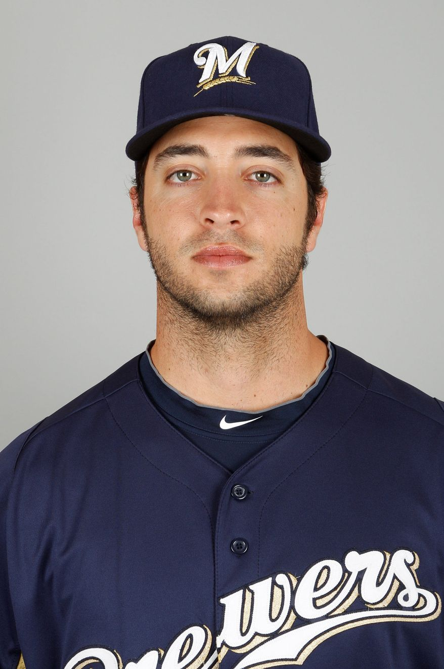 """ESPN broke the story that Ryan Braun, slugger for the Milwaukee Brewers and the reigning National League most valuable player, had tested positive for a performance-enhancing drug and is facing a 50-game suspension. A spokesman for Braun said in a statement issued to ESPN and the Associated Press by his representatives, Creative Artists Agency, that """"there are highly unusual circumstances surrounding this case which will support Ryan's complete innocence."""" (Associated Press)"""