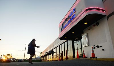 ON PROBATION: Suitland's Upscale Ballroom was allowed to reopen, but warned not to feature adult entertainment. (Andrew Harnik/The Washington Times)