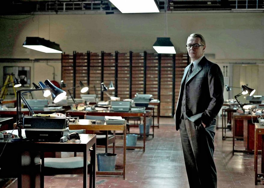 """Actor Gary Oldman is shown in a scene from Swedish director Tomas Alfredson's new screen adaptation of the John le Carre novel """"Tinker, Tailor, Soldier, Spy."""" (Associated Press)"""