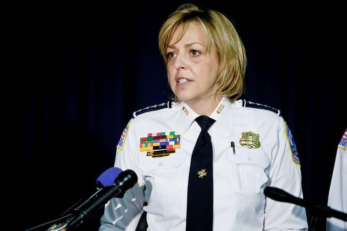 Metropolitan Police Chief Cathy L. Lanier