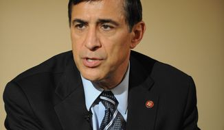 Republican Rep. Darrell E. Issa has asked the House ethics panel to investigate four lawmakers in connection with VIP discounted loans from now-defunct Countrywide Financial Corp.  (Rod Lamkey Jr./The Washington Times)