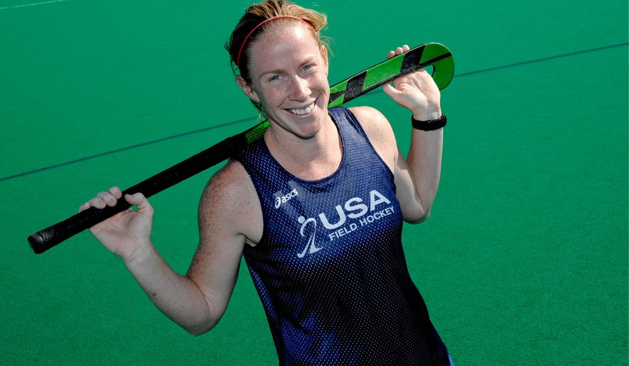 Claire Laubauch will have a chance to showcase her skills in 2012 Olympics after being left off the U.S. roster for the 2008 Games in Beijing then being demoted to a development team. The U.S. qualified for the London Games by winning the Pan Am Games tournament in October. (Denis Poroy/Special to The Washington Times)