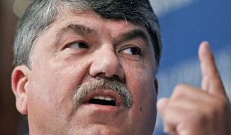 AFL-CIO President Richard L. Trumka praised the National Labor Relations Board's sweeping new rules approved Wednesday that make it easier for unions to gain members at companies that have long rebuffed them. (Associated Press)