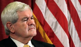 **FILE** Former House Speaker Newt Gingrich