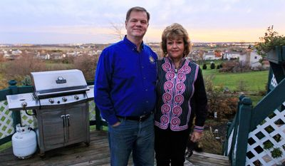 """He's sold me,"" said Dan Keith, 61, about Newt Gingrich. Mr. Keith and his wife, Pat, of Hamilton, Ohio, said they are convinced that Mr. Gingrich has the experience and savvy to be a strong candidate against President Obama. (Associated Press)"