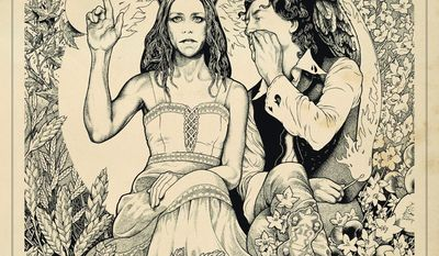 """Album cover for Gillian Welch's """"The Harrow and the Harvest"""""""