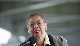 In a letter dated Dec. 22 to Transportation Department Inspector General Calvin L. Scovell III, D.C. Delegate Eleanor Holmes Norton, a Democrat, requested the audit because there is no master plan to oversee the major changes at Union Station. (Rod Lamkey Jr./The Washington Times)