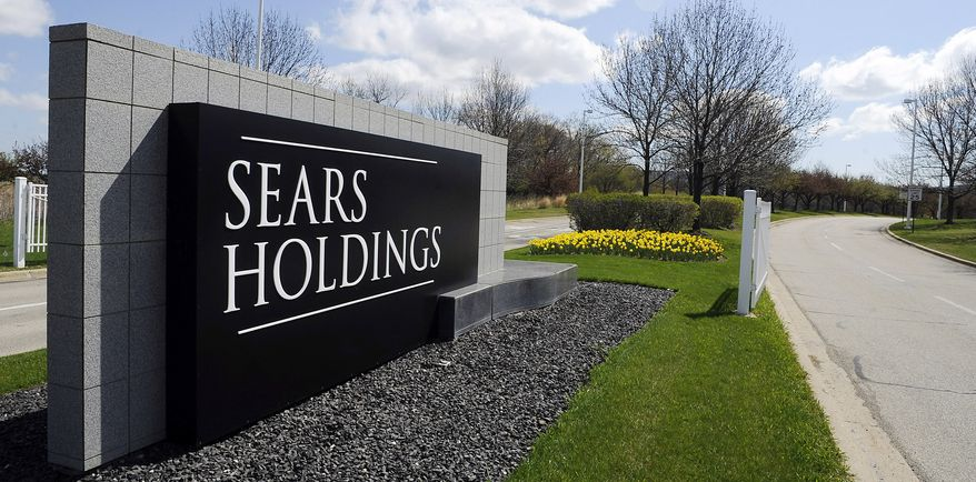 Sears Holdings Corp. has its headquarters in Hoffman Estates, Ill. (Associated Press)