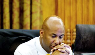 D.C. Council member Michael A. Brown (The Washington Times)