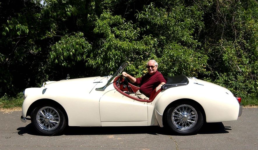 Maury Cagle considers his 1955 Triumph TR-2 a good substitute for the memories of his MG TF.