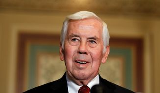Sen. Richard G. Lugar, Indiana Republican, is a 2012 target of the Tea Party. (Associated Press)