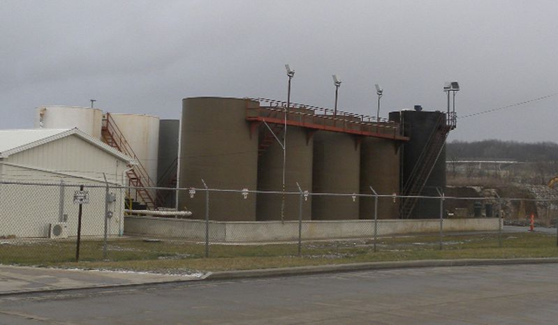 Northstar Disposal Services LLC in Youngstown, Ohio, has halted operations at its injection well, which disposes of brine used in gas and oil drilling, after a series of small earthquakes in the area, including a magnitude 4.0 on New Year's Eve. (Associated Press)