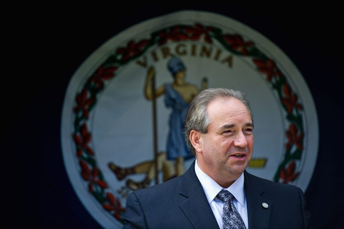 ** FILE ** Virginia Lt. Gov. Bill Bolling (The Washington Times)
