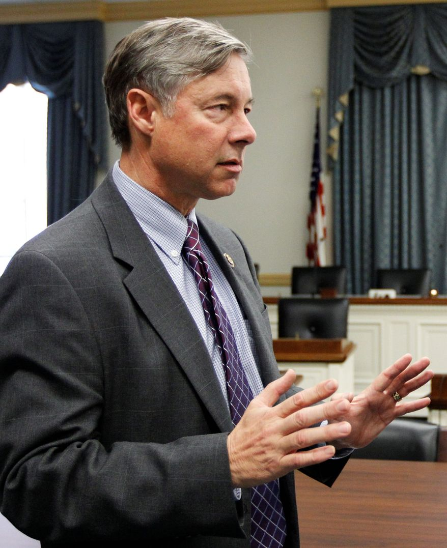 **FILE** Rep. Fred Upton, Michigan Republican (Associated Press)